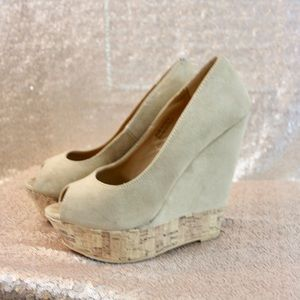 Forever 21 Suede Wedges
